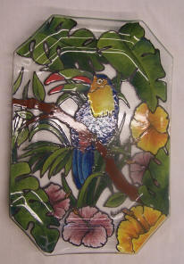 Parrot Plate Glass