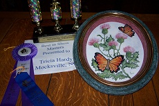 Butterfly & Thistle Plaque